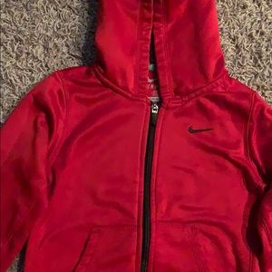 Nike Shirts & Tops - Nike therma-fit zip up sweatshirt